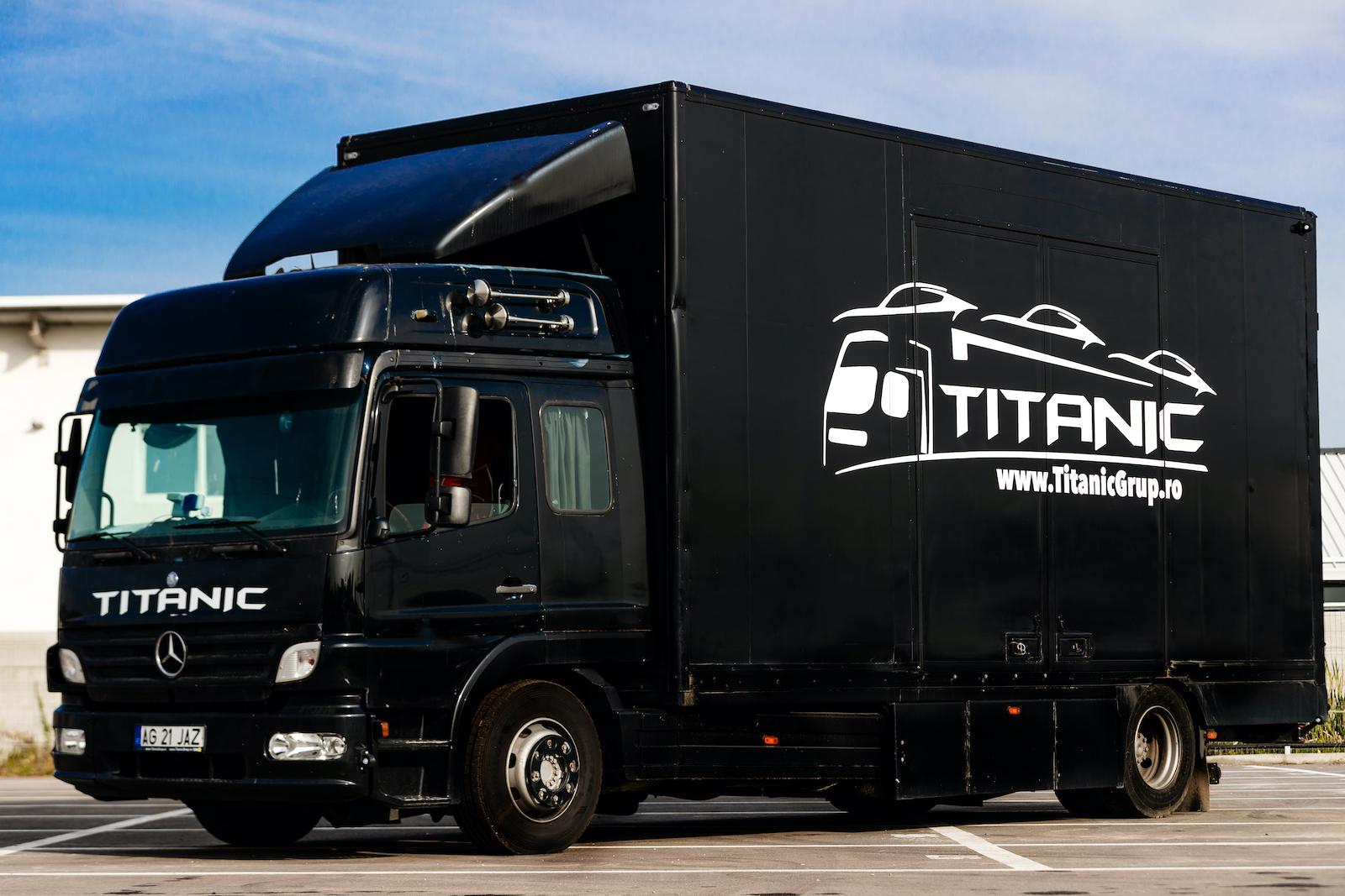 titanic transport inchis